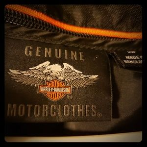 Harley womens 2W Leather Roding Jacket